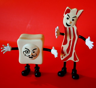 Mister Bacon Versus Monsieur Tofu
