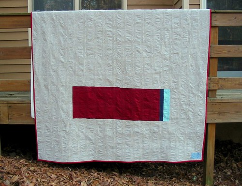 Plain Spoken quilt back