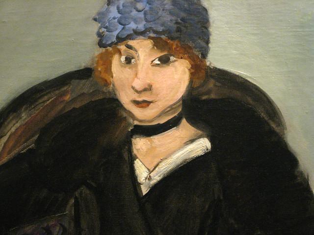 Matisse Marguerite Wearing a Hat (detail)