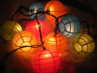 Day 54 - Colored Lanterns