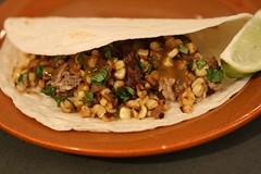 carnitas, taco, meat, food, dish, cuisine,