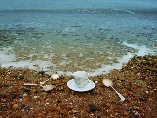 tea beside the sea