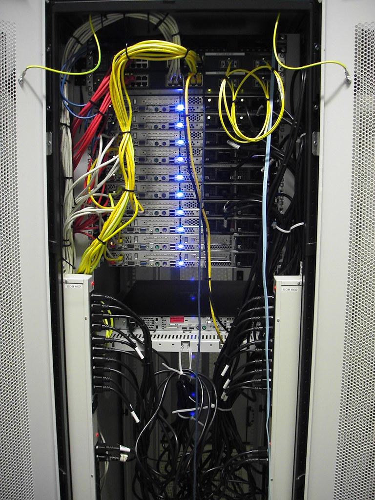 CIX server installation - rear