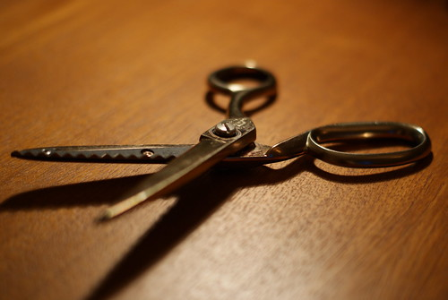 Scissors by Ian Stannard on flickr