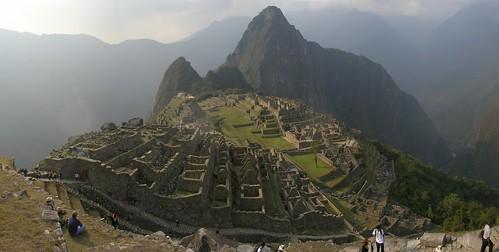Machu Pichu, the trails end.