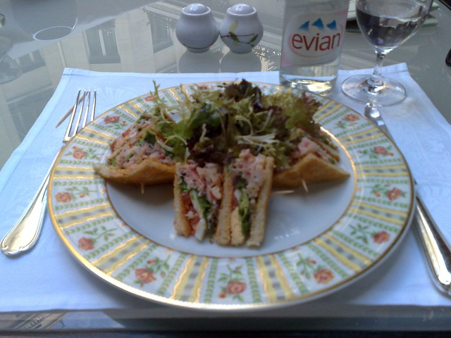 Lobster Club Sandwich@George V Four Seasons, Paris | Flickr - Photo ...