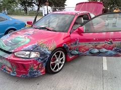 automobile, automotive exterior, wheel, vehicle, mitsubishi, bumper, sedan, land vehicle, sports car,