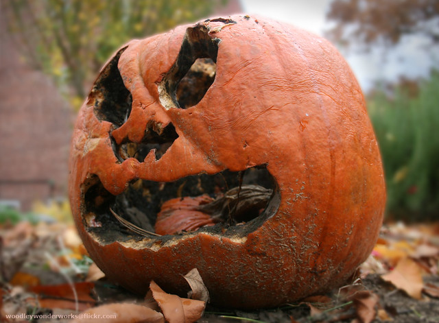 my pumpkin has a bad case of halitosis