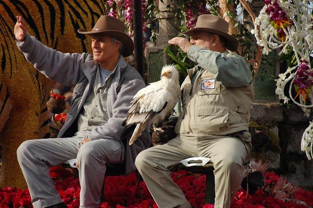 Jack Hanna ~ rare Egyptian Vulture