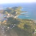 Culebra Island Puerto Rico From the Airplane
