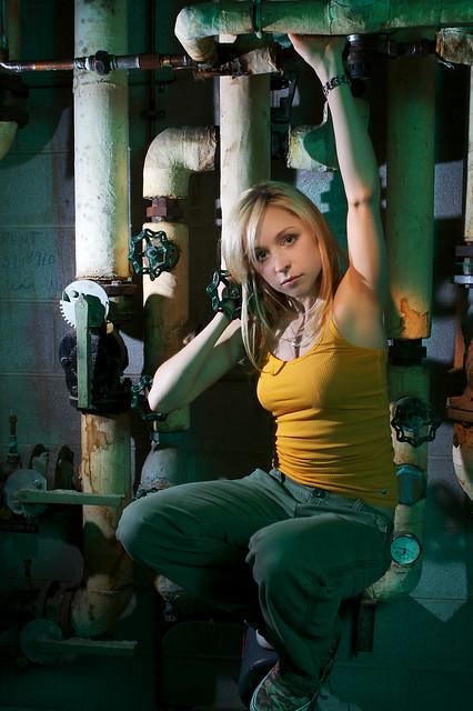 Boiler Room Full Of Molded Resident Evil