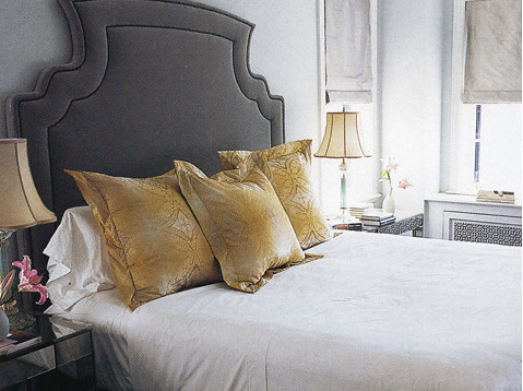 Bedrooms a gallery on flickr - Grey and gold bedroom ...