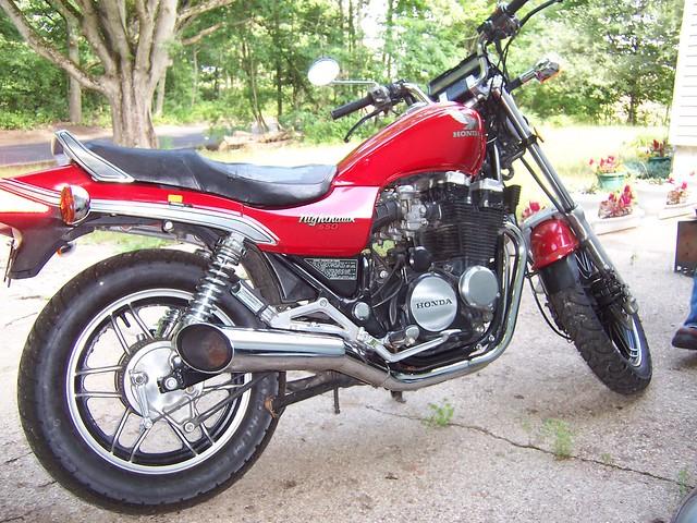 1984 Honda Nighthawk 650 back   Flickr - Photo Sharing!