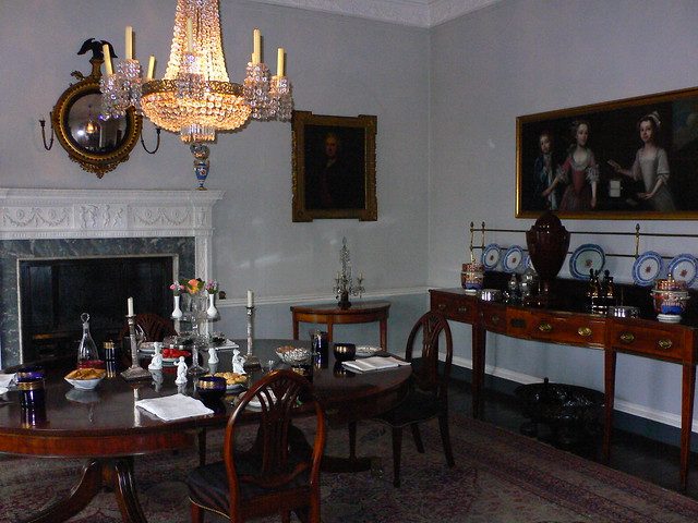 Dining Room Georgian Style Decoration