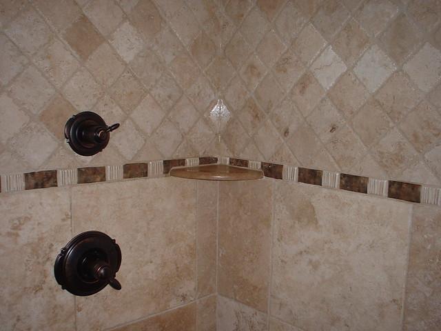 Travertine Tile Shower Flickr Photo Sharing