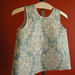 Laminated Fabric Smock-Shangri la