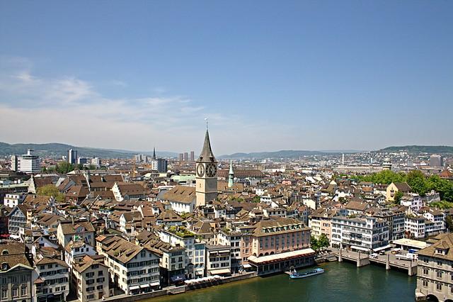 Zurich by CC user somemixedstuff on Flickr