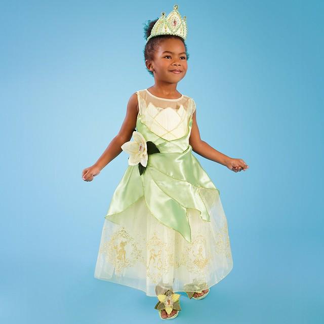 Princess Tiana Outfit: Princess Tiana Costume For Girls