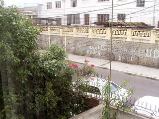 The street from my house in quito