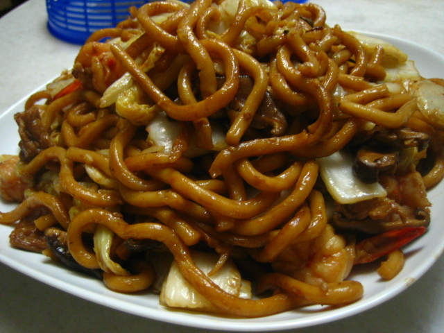 how to cook fried udon