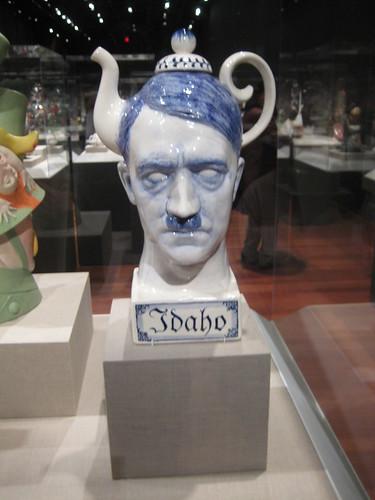 OMG Hitler Teapot.