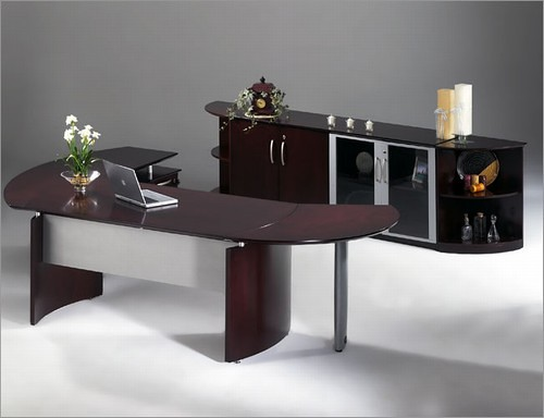 VQV Napoli Desk with Low Cabinet