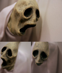 nose, sculpture, head, mask, skull,