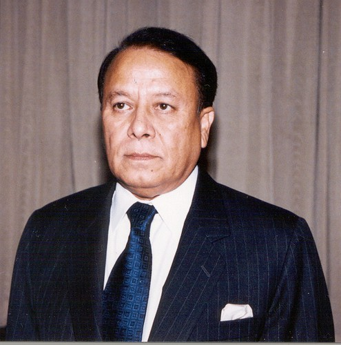 Mr. M. Morshed Khan,  Minister for Foreign Affairs, Bangladesh (November 2001 - October 2006)