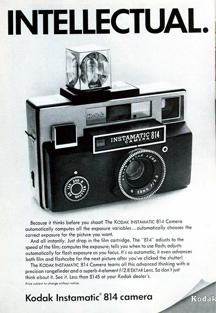 Kodak Instamatic 814 (September 1969)