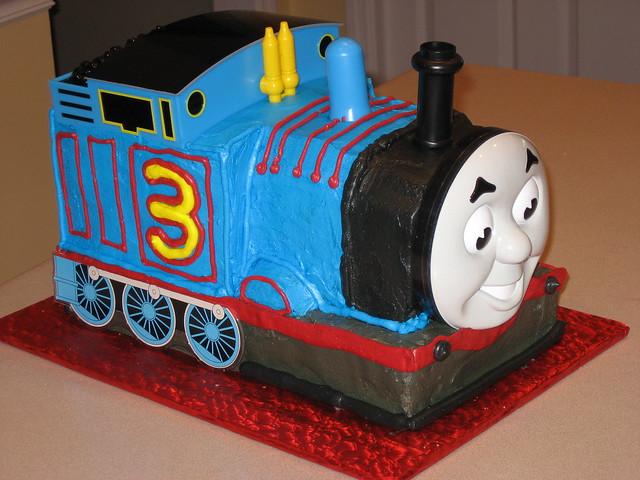 Thomas The Train Face Thomas Train 3d Cake Kit