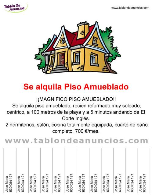 se alquila piso amueblado flickr photo sharing