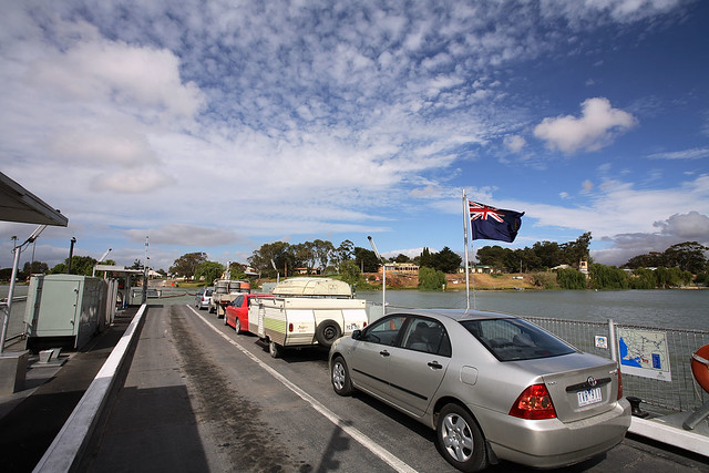 Crossing the Murray