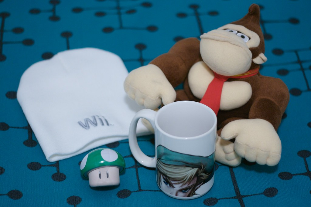 Things to be found in Nintendo World store