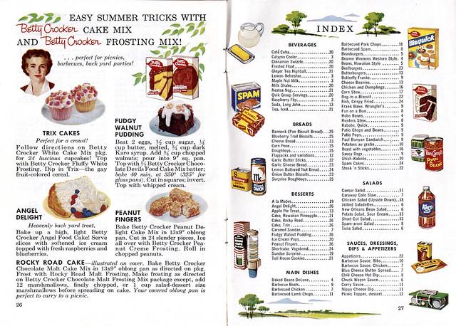 Easy Summer Tricks with Betty Crocker Cake Mix