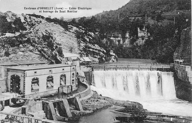 Le barrage du Saut-Mortier