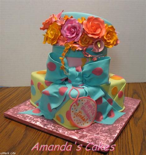 Linda's 65th Birthday Cake