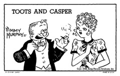 Toots and Casper Exhibit Card | by andertoons