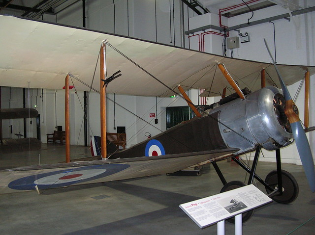 RAF Museum051 - Grahame-White Factory  Collection - WWI - British - Sopwith Pup - Fighter - 1916