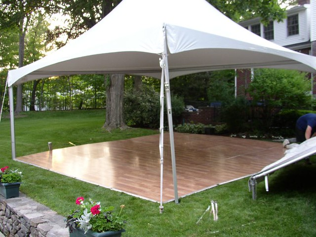 Tent With Dance Floor Flickr Photo Sharing