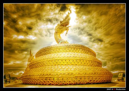 Snake Fountain @ Karon Beach (Thailand)
