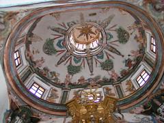 Cúpula Capilla de La Virgen del Rosario