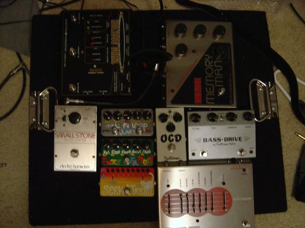 Photo:Pedal Board By Bryan Sutter