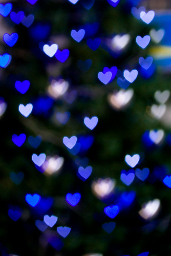 Bokeh heart Tree....