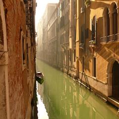 green liquid street