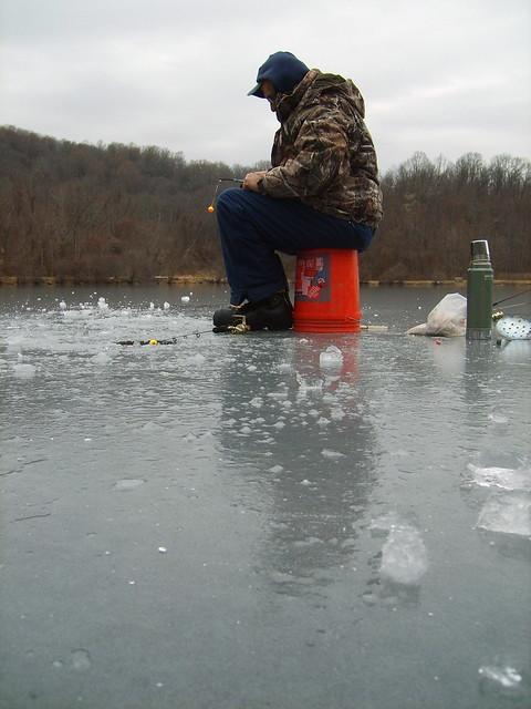 Ice fishing lake thompson flickr photo sharing for Lake james fishing