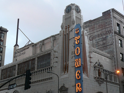 Tower Theater, downtown Los Angeles