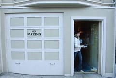 wall, garage door, door, facade,
