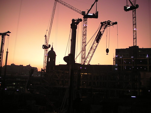 Silhouette Series 7 :Construction London Bridge