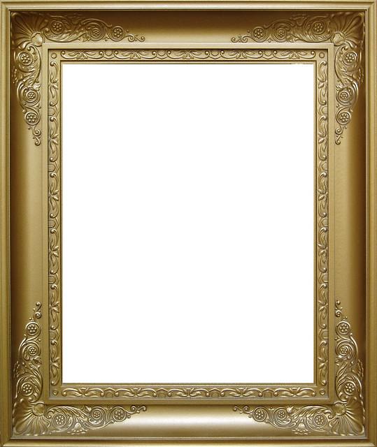 Goldener Bilderrahmen - gold picture frame