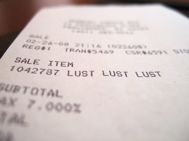 Lust at a Discount